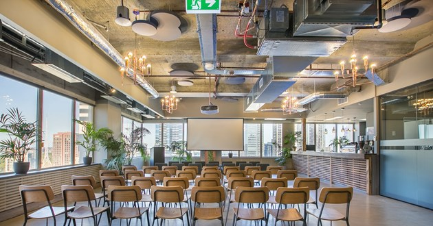 Stunning Industrial Event Space (L)