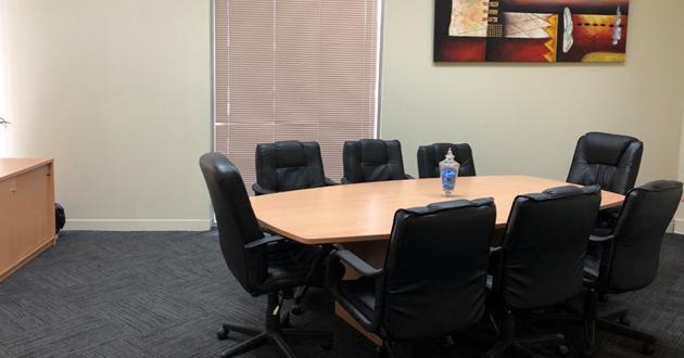 10 person Board Room in Caufield