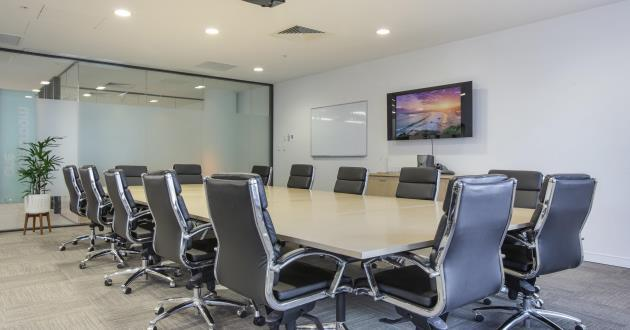 A 12 person boardroom by Central Station