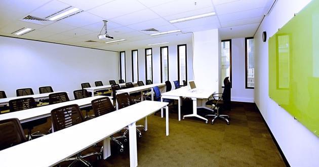 25 Person Training Room in Melbourne CBD