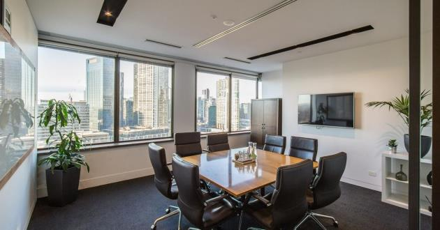8 Person Meeting Room with Natural Light - The River Room