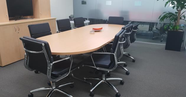 8 Person Boardroom in Penrith
