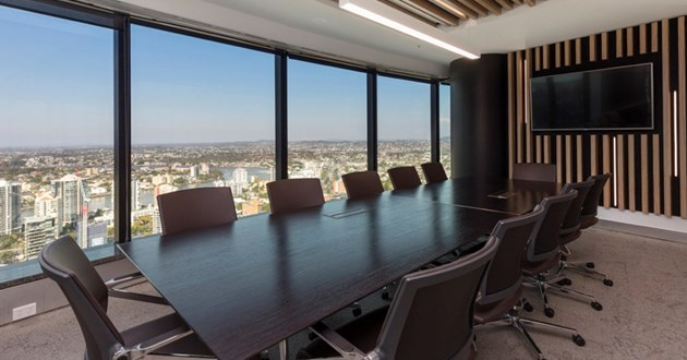 12 Person Boardroom at Waterfront Place, Brisbane CBD
