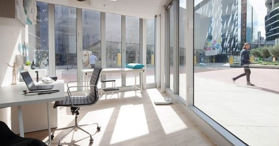 Private Office in the Docklands
