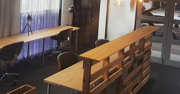 Cozy Permanent Desk  Space