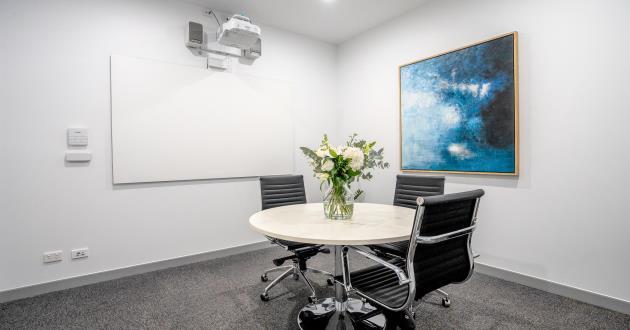4 Person Boardroom in East Brisbane - La Trobe