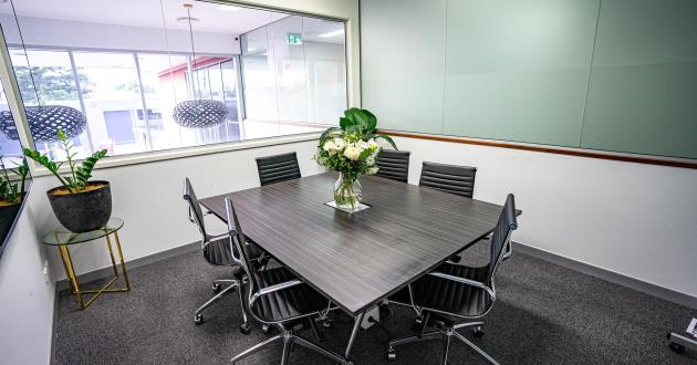 8 Person Boardroom in East Brisbane - Laidlaw