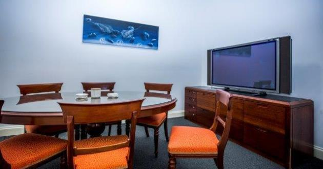 6 Person Formal Meeting Room in Fortitude Valley