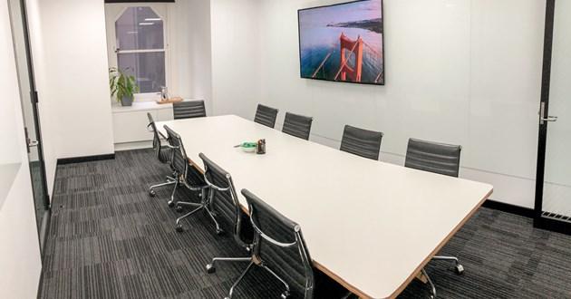 10 Person Modern Boardroom in Sydney CBD