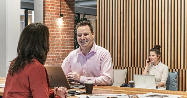 Coworking at United Co. Fitzroy Business Centre