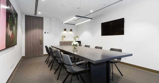Stylish Boardroom for up to 10 Guests