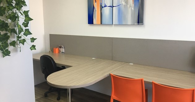 Private office or meeting room