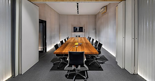 Combined Dunlop and Vogue - Boardroom for 20