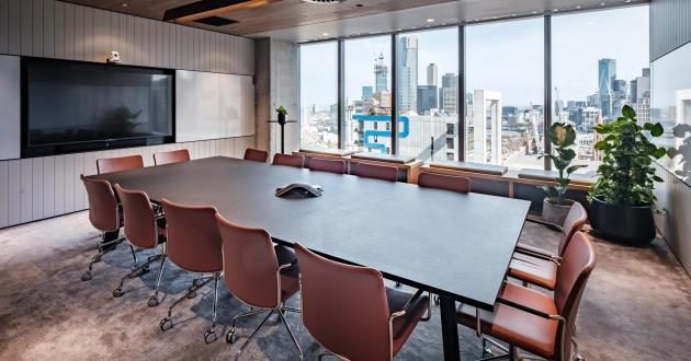 Private Meeting Room for 14 people at 8 Exhibition Street