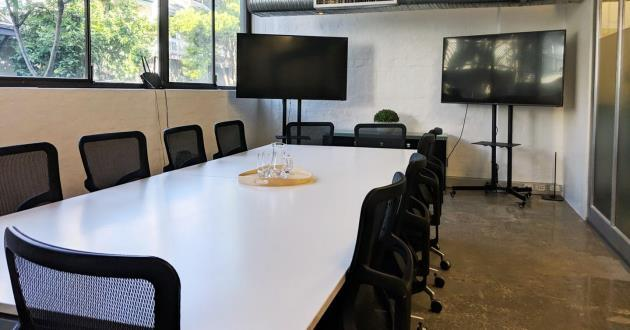 14 Person Boardroom with Natural light in Ultimo