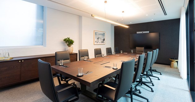 Modern 12 Person Boardroom on Collins St
