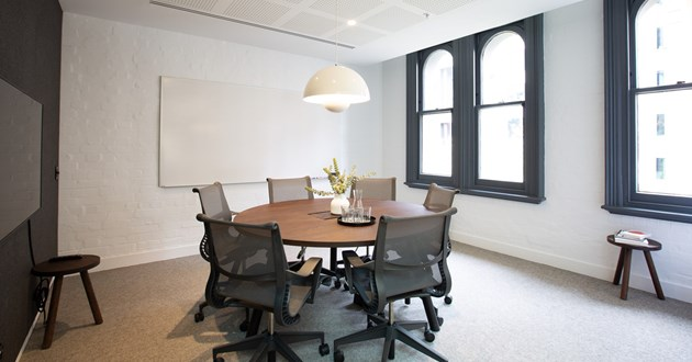 6 Person Meeting & Strategy Space on Collins St