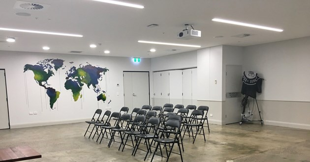 50 Person Event Space in Wynyard
