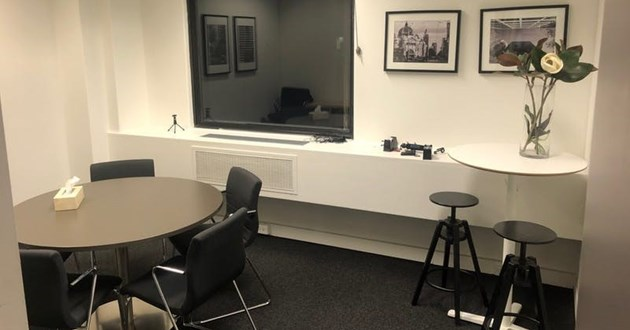 Meeting room for 4 on Collins St.