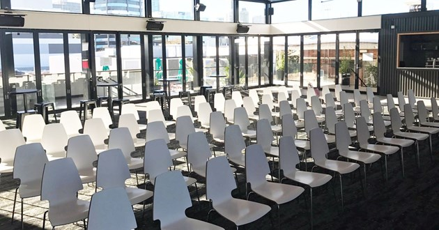 Covered Rooftop Event/Training Space (Main Hall)