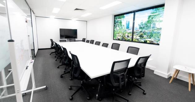 Spacious 24 Person Boardroom