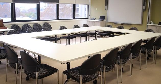 Light filled Boardroom/Training Room in Sydney CBD