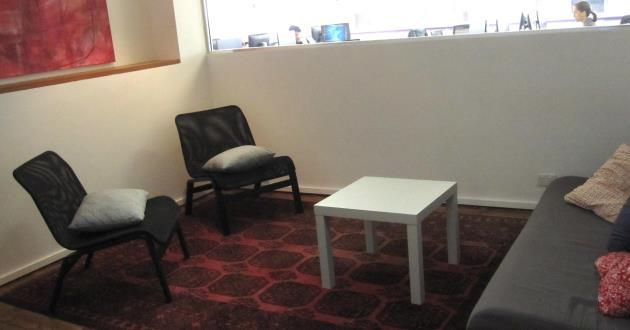 Casual 4 Person Meeting Space in St. Leonards