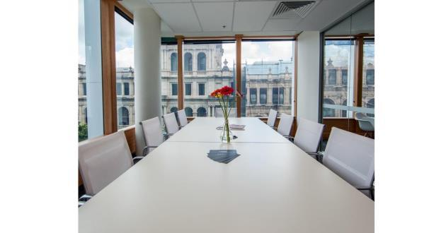 12 Person Boardroom with View