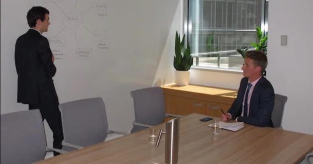 12 Person Boardroom in Farrer Place C3