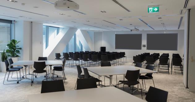 100 Person Seminar Space in Farrer Place AB
