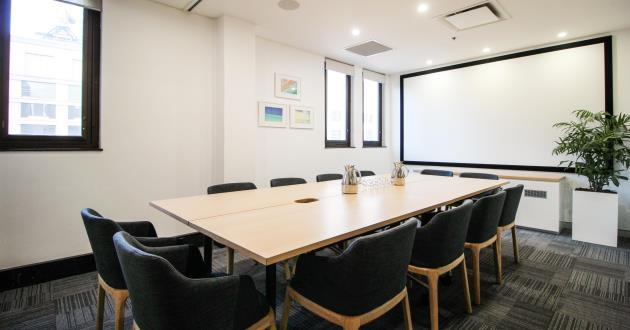 12 Person Boardroom w Natural Light by Wynyard (Lvl 11)