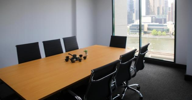 Natural light filled 6-8 Person Boardroom