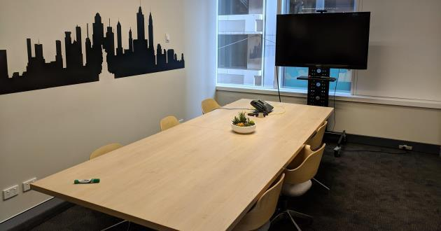 8 Person Meeting Room in North Sydney