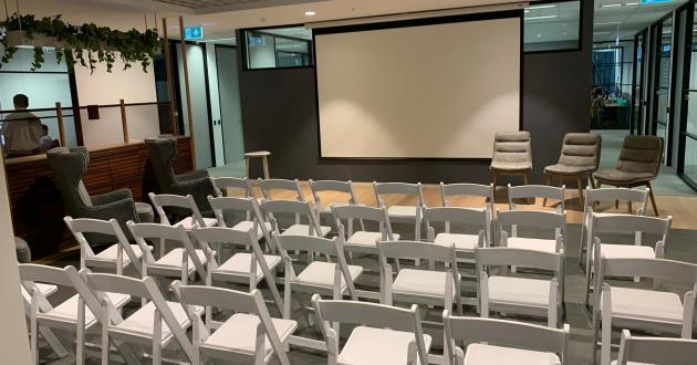 60 Person Event Space in Docklands