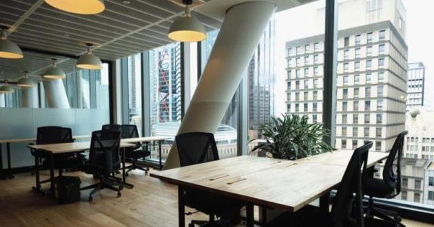 Desks in the heart of the city