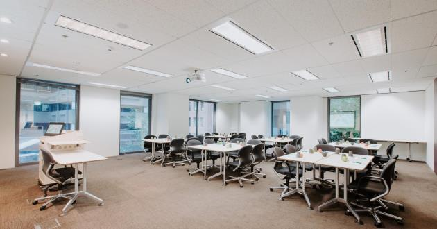 CURRENTLY CLOSED - Natural light-filled Training Space (T7)