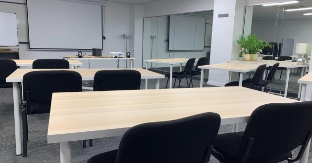 Level 3 Training Room at Pirie St - 22 Pax