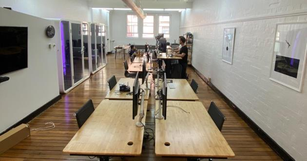 Shared creative space in Sydney CBD