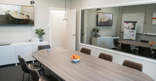10 Pax Boardroom in Kangaroo Point (Orange)