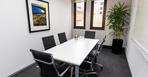 6 Person Meeting Room with Natural Light  (Level 8)