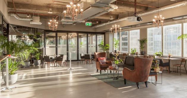 100 Person Event space in Melbourne CBD (A+L)