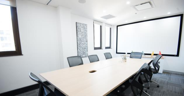 18 Person Boardroom with Natural Light
