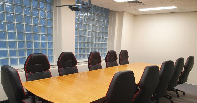Large Boardroom near Town Hall