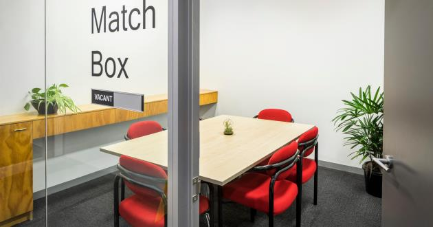 Match Box   6 Person Meeting Room