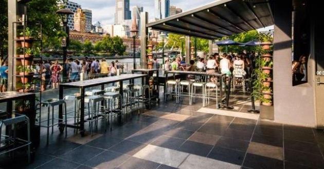 Fully Covered Bar Terrace