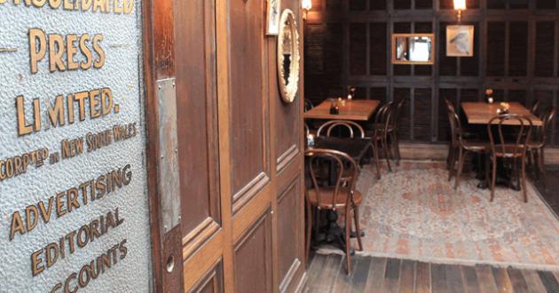 """Restaurant """"Louvre Room"""""""