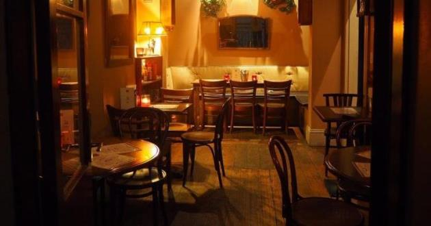 The Stylish Upstairs Bar