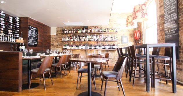 Light Rustic Wine Bar