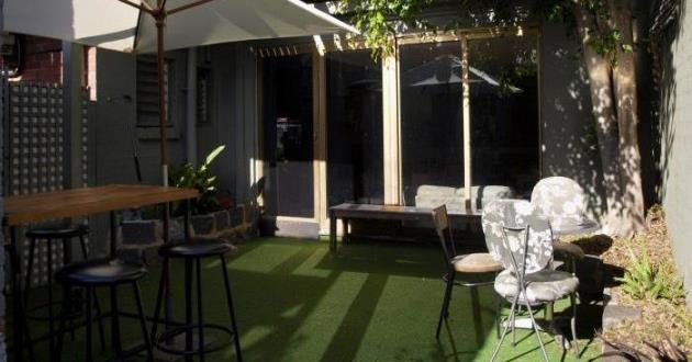 Front, Middle and Back Rooms plus Beer Garden