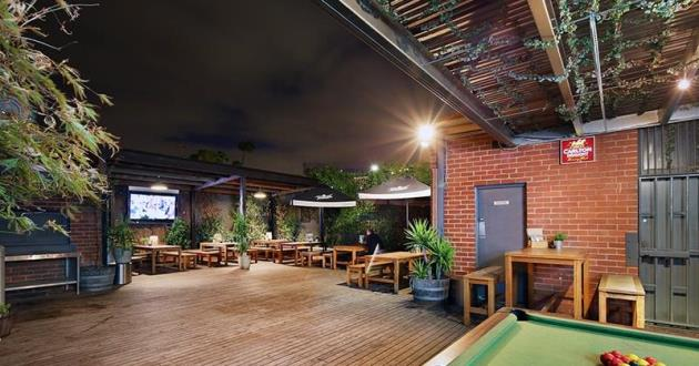 Front Bar with a Beautiful Beer Garden